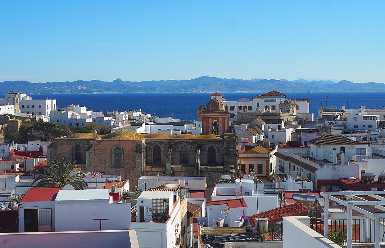 Tarifa Rooftop view